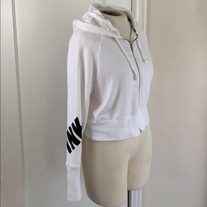 Victoria's Secret PINK logo hoodie sweatshirt zip